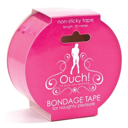 OUCH! BONDAGE TAPE PINK