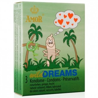 WILD DREAMS CONDOMS 3 UNITS