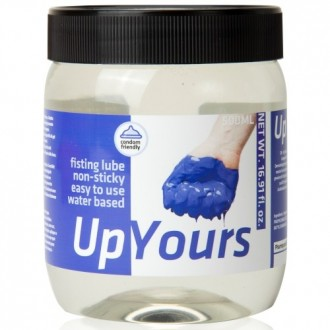 LUBRICANTE PARA FISTING UP YOURS 500ML