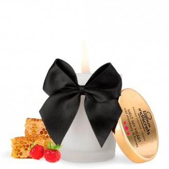 MELT MY HEART EDIBLE CANDLE BIJOUX INDISCRETS WILD STRAWBERRY AND HONEY 70ML