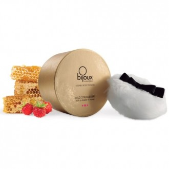 WILD STRAWBERRY EDIBLE BODY POWDER BIJOUX INDISCRETS STRAWBERRY AND HONEY 45GR