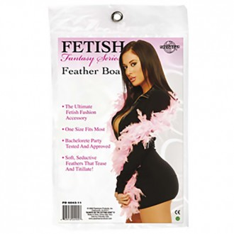 FETISH FEATHER BOA PINK
