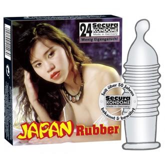 JAPAN RUBBER CONDOMS 24 UNITS