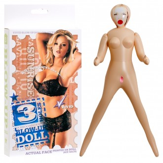 3 HOLES SUNRISE INFLATABLE DOLL