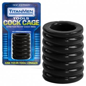 TITANMEN COCK CAGE PENIS RING