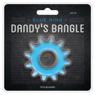 DANDYS BANGLE GET UP COCKRING BLUE