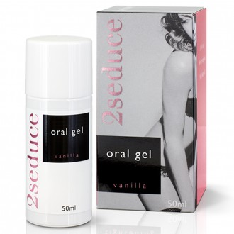 2SEDUCE ORAL GEL VANILLA FLAVOUR 50ML
