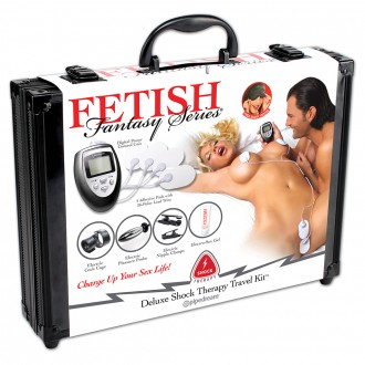 FETISH FANTASY DELUXE TRAVEL KIT SHOCK THERAPY