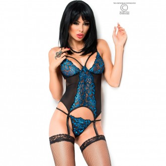 CORSET WITH THONG CR-3845
