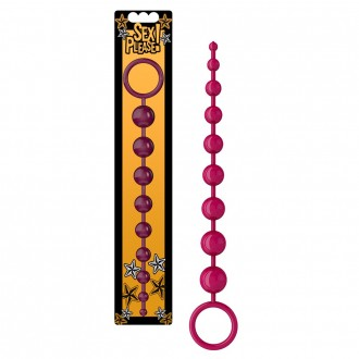 SEX PLEASE! SEXY BEADS 9 ANAL BEADS PURPLE