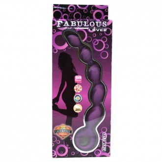 BAILE FABULOUS LOVER ANAL BEADS PURPLE
