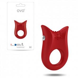 OVO B2 PENIS RING  RED