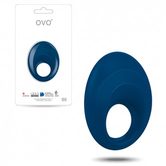 OVO B5 PENIS RING  BLUE