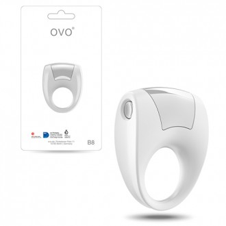 OVO B8 PENIS RING  WHITE