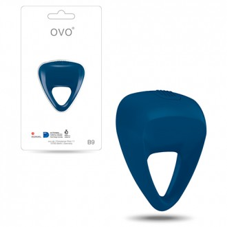 OVO B9 PENIS RING  BLUE