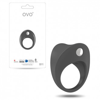 OVO B11 PENIS RING  GREY