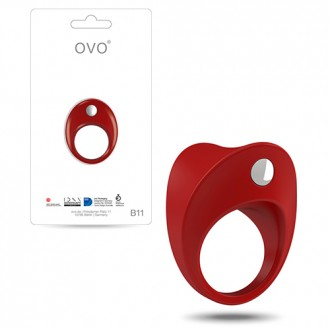 OVO B11 PENIS RING  RED
