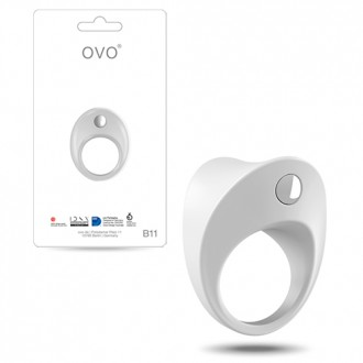 OVO B11 PENIS RING  WHITE