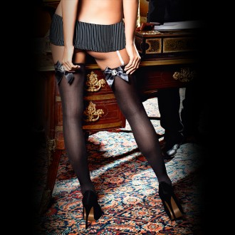 THIGH HIGH STOCKINGS 1250 BACI BLACK