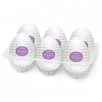 PACK WITH 6 TENGA EGG SPIDER MASTURBATORS