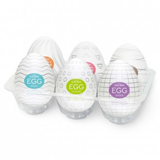 TENGA EGG 6 COLORS PACKAGE MASTURBATORS