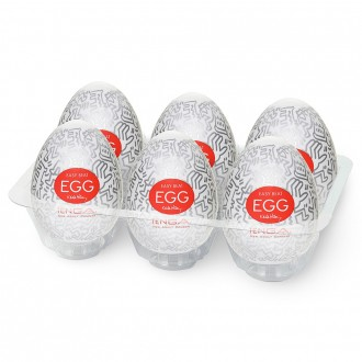 PACK WITH 6 TENGA EGG KEITH HARING PARTY MASTURBATORS