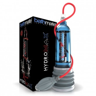 BATHMATE HYDROMAX XTREME X50 PUMP WITH ACCESSORIES BLUE