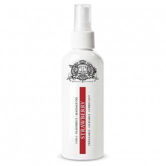 TOUCHÉ STRAWBERRY 5 IN 1 LUBRICANT 80ML