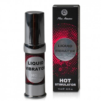 HOT LIQUID VIBRATOR GEL 15 ML