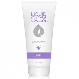 LIQUID SEX GRAPE TINGLING GEL FOR HER 56GR
