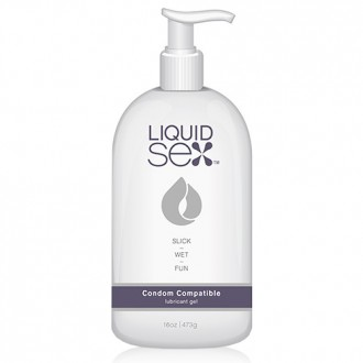 LIQUID SEX CONDOM COMPATIBLE WATER BASED LUBE 473ML