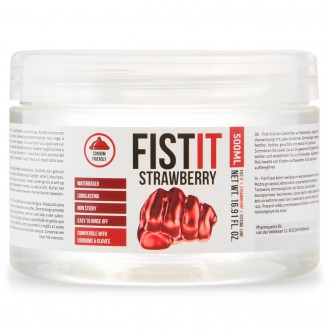FIST IT FISTING STRAWBERRY LUBRICANT 500ML