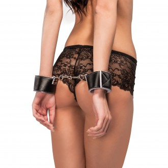 OUCH! REVERSIBLE WRIST CUFFS WHITE