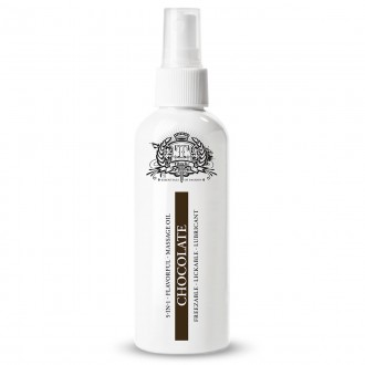 TOUCHE ICE CHOCOLATE LUBRICANT AND MASSAGE OIL 80ML