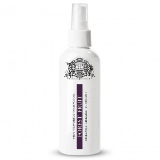 TOUCHE ICE FOREST FRUIT LUBRICANT AND MASSAGE OIL 80ML