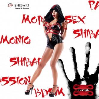 DEMONIQ PACK CATSUIT HOSHI SHIBARI BLACK