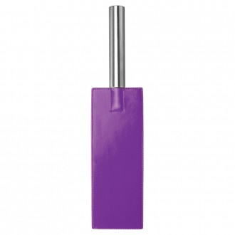 AZOTADOR OUCH! LEATHER PADDLE MORADO