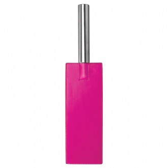OUCH! LEATHER PADDLE PINK