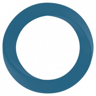 INFINITY THIN LARGE COCKRING BLUE