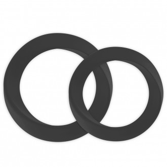 2 INFINITY THIN M & L COCKRING BLACK