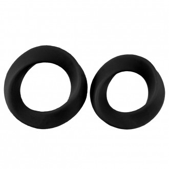 2 INFINITY THIN L & XL COCKRING BLACK