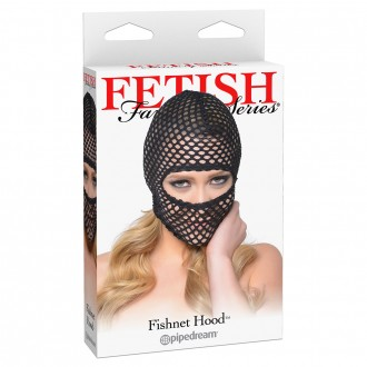 FETISH FANTASY SERIES FISHNET HOOD