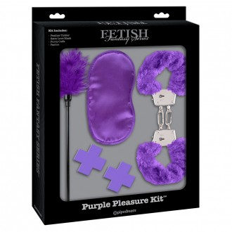 FETISH FANTASY LIMITED EDITION PURPLE PLEASURE KIT