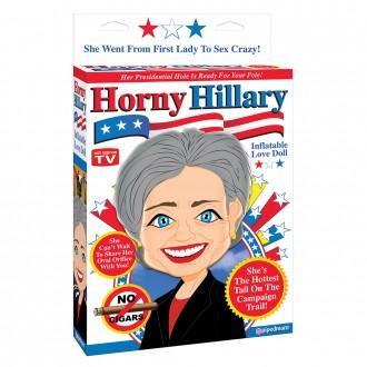 HORNY HILLARY LOVE DOLL