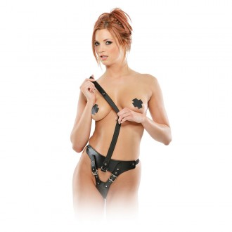 CHASTITY PANTY AND LEASH FETISH FANTASY SERIES