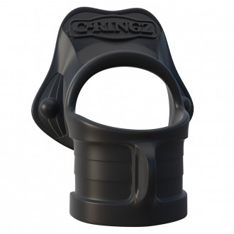 FANTASY C-RINGZ ROCK-HARD RING AND BALL STRETCHER
