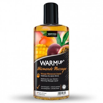 WARMUP EDIBLE MASSAGE OIL MANGO PASSION FRUIT 150ML