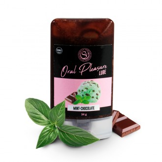 ORAL PLEASURE MINT-CHOCOLATE KISSABLE LUBRICANT 34GR