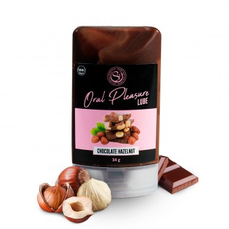 ORAL PLEASURE CHOCOLATE HAZELNUT KISSABLE LUBRICANT 34GR