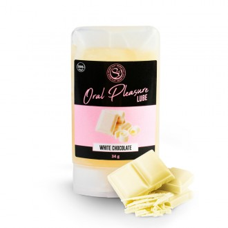 ORAL PLEASURE WHITE CHOCOLATE KISSABLE LUBRICANT 34GR